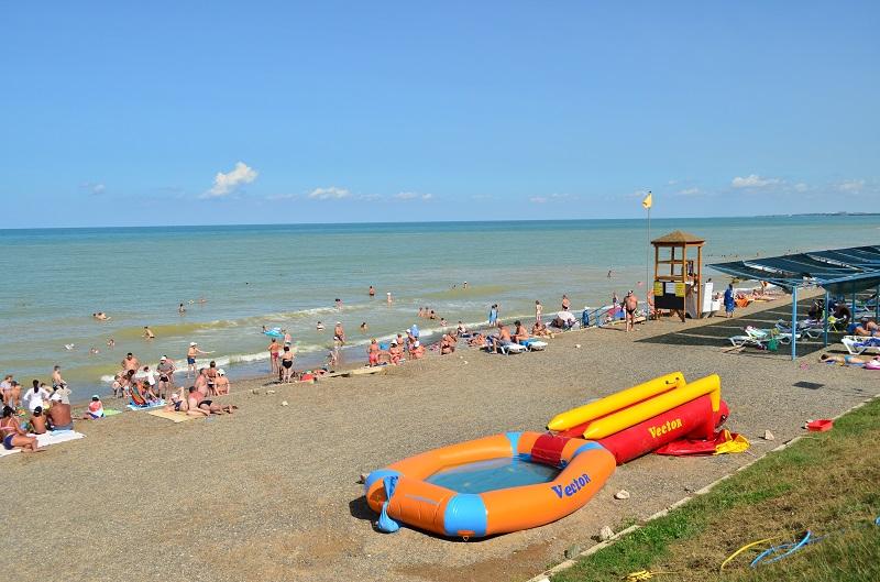 Развлечения в Песчаном в Крыму на пляже