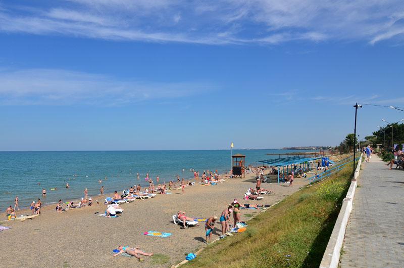 Отдых в Крыму у моря в Песчаном
